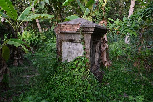 nisan maria arabella junemann di kuburan belanda kerkhof sewugalur