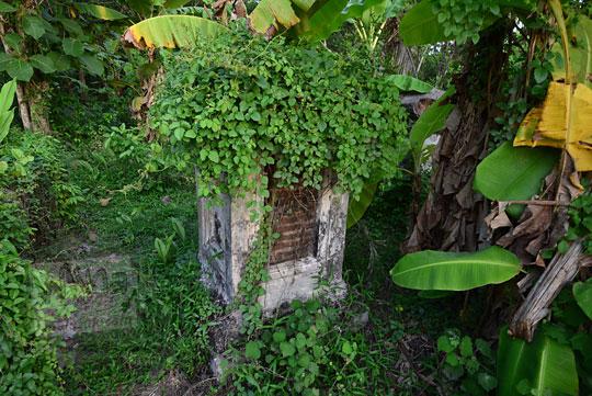 nisan orang belanda yang masih tersisa di kuburan belanda kerkhof sewugalur