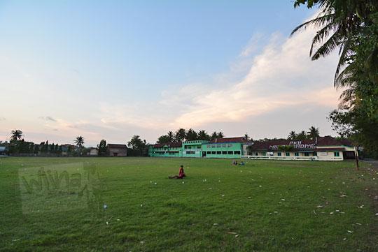lapangan karangsewu bekas depo lori pengangkut tebu pabrik gula sewugalur
