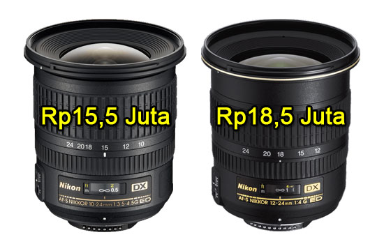 review lensa wide angle nikon dx