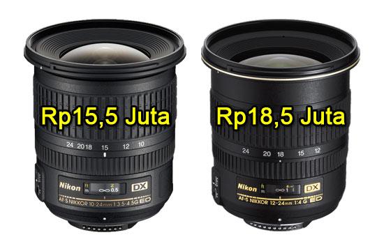 review lensa wide angle nikon dx