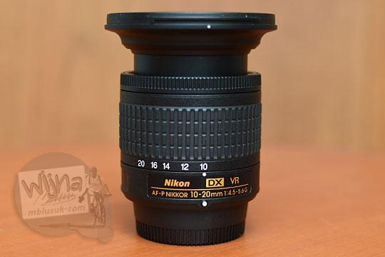 panjang zoom lensa wide nikon af-p 10-20 vr dx