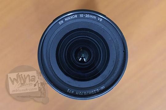 uji tes filter depan lensa wide nikon af-p 10-20 vr dx
