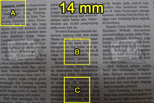 tes ketajaman lensa wide nikon af-p 10-20 vr dx di 14 mm