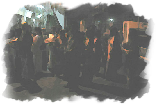 ilustrasi prosesi upacara malam midodareni pada malam sebelum nikah