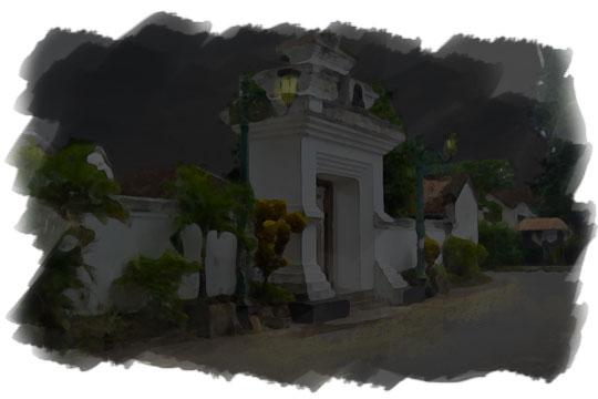 ilustrasi makam hasta renggo kotagede pada malam sebelum nikah