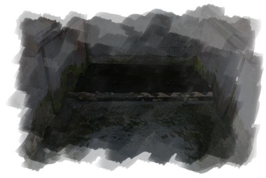 ilustrasi prosesi mengambil air di sendang seliran lanang kotagede pada malam sebelum nikah
