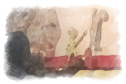 ilustrasi berbagai macam bentuk jenis wayang setan kotagede pada malam sebelum nikah