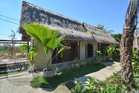 toilet modern di desa adat sade lombok