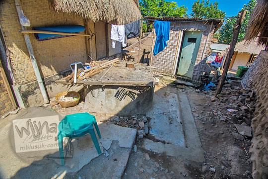 toilet kumuh di desa adat sade lombok