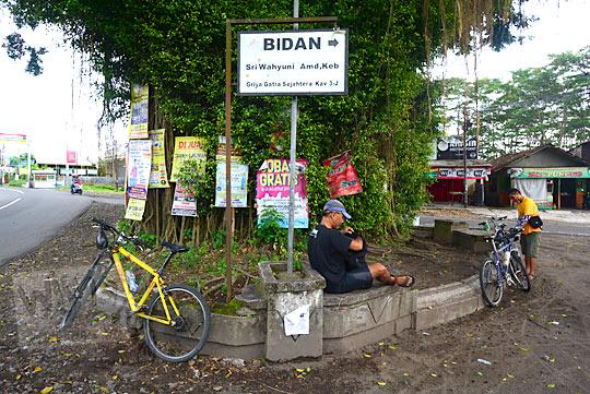 cerita bersepeda ke petilasan keraton gaib bathok bolu di di dusun sambiroto purwomartani kalasan tahun 2018