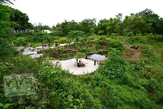 kasus korupsi lahan kritis sultan ground kepala desa purwomartani kalasan serakah dekat keraton bathok bolu