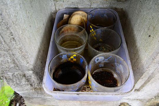 sesaji kopi penunggu keraton gaib bathok bolu di dusun sambiroto purwomartani kalasan tahun 2018
