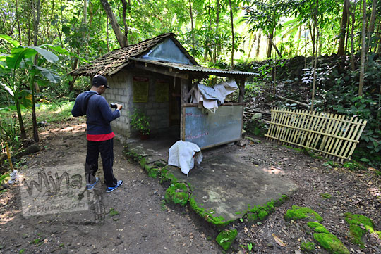 bangunan pesanggrahan kiai wongso pati di dusun nglepen sumberharjo prambanan dari dekat