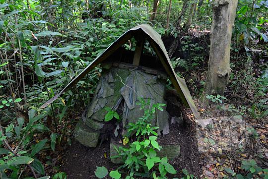makam tua keramat di dekat pesanggrahan kiai wongso pati di dusun nglepen sumberharjo prambanan