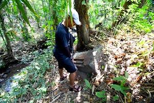 Thumbnail artikel blog berjudul Mencari Watu Gilang di Dekat Belik Segaran Tirtomartani