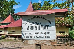 Thumbnail artikel blog berjudul Masjid Tua Ar-Rahmat di Kampar