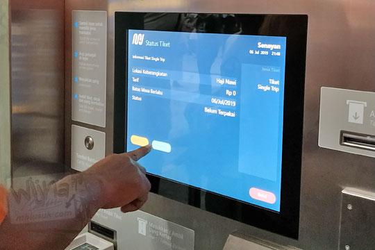 panduan menggunakan mesin tiket otomatis mrt jakarta