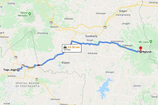 peta jogja nglurah tawangmangu