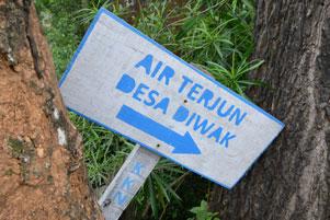 Air Terjun Di Desa Diwak yang Kurang Tenar