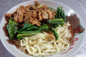 Pangsit dan Yamie Ayam Jakarta Katamso