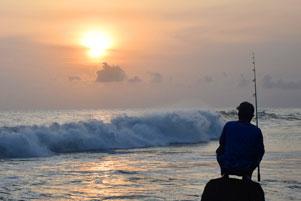 Suatu Senja di Pantai Glagah