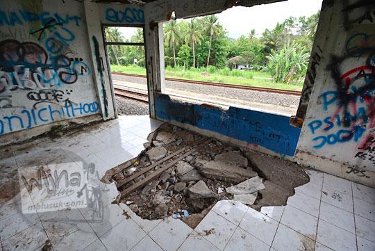 sisi utara ruangan ppka stasiun kedundang