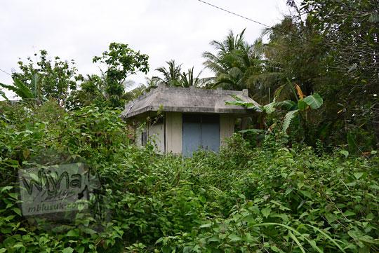 rumah sinyal genset stasiun kedundang