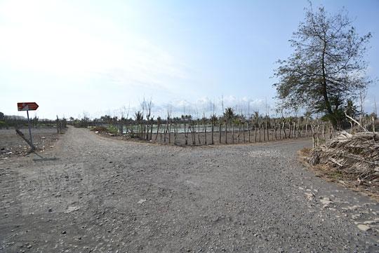 jalan rusak menuju pantai bugel kulon progo