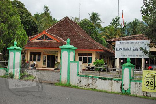 sejarah kantor kecamatan samigaluh kulon progo