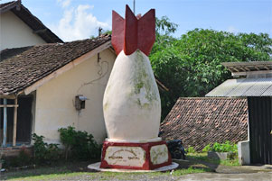Thumbnail artikel blog berjudul Sejarah Monumen Bom di Samigaluh
