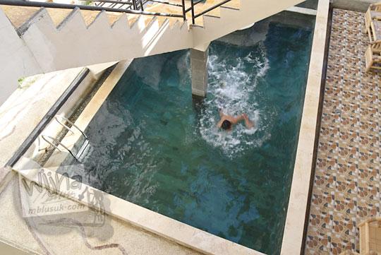 kolam renang banyu urip homestay kuta lombok