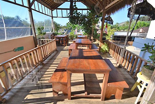 kafe hotel homestay banyuurip di kawasan pantai kuta lombok