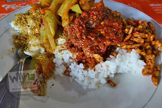 nasi campur khas lombok