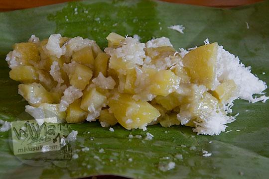 jajanan tradisional pasar mataram yang terbuat dari ubi
