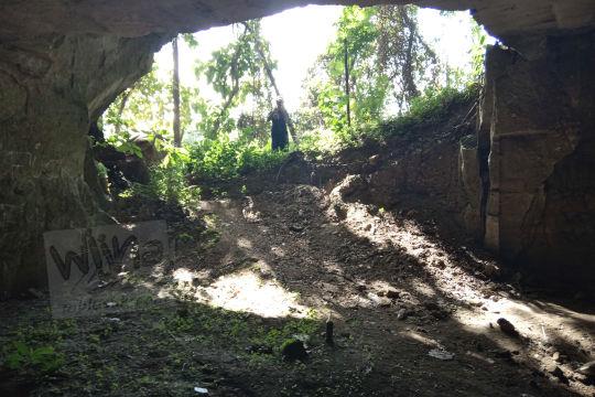 ketinggian muka gua permoni