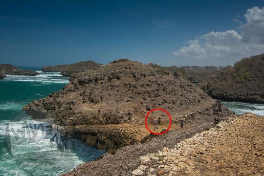 pulau tanjung karang pantai kasap pacitan