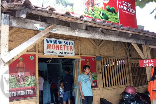 muka warung soto kemangi moneter bu titik ringroad timur kotagede