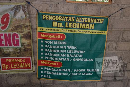tarif jasa mbah legiman luweng sampang gedangsari gunungkidul