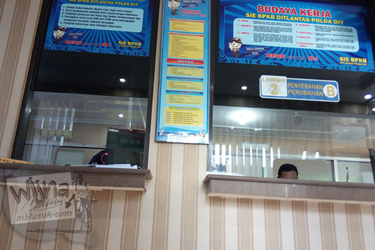 loket layanan penerbitan bpkb samsat kota yogyakarta