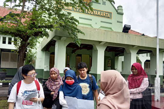 belajar sejarah bangunan tua kodim 0734 yogyakarta