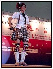 Peserta Cosplay Jepang Seksi di Indonesia Japan Expo 2008