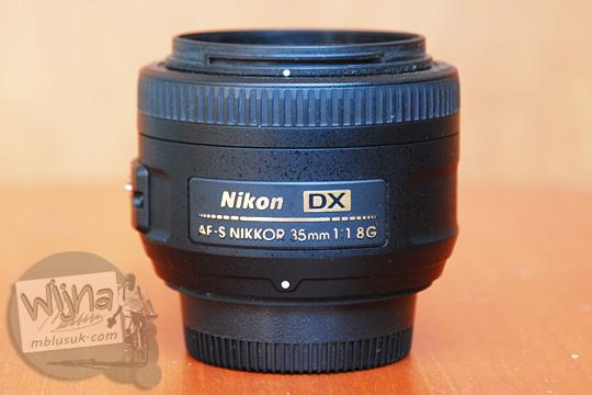 pengalaman memakai review lensa AF-S DX Nikkor 35mm yang kualitasnya bagus