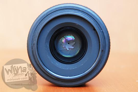 review pengalaman kualitas gelas optik pada lensa AF-S DX Nikkor 35mm