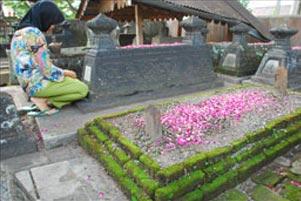Makam di Keraton Kartasura