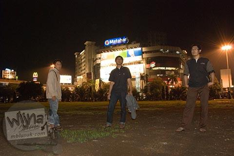 Foto Alun-Alun Semarang, Jawa Tengah pada November 2007