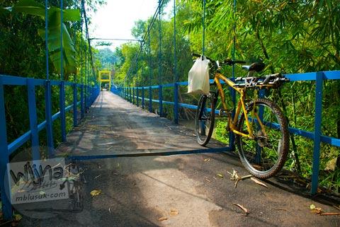 Foto Jembatan Blawong, Jetis, Bantul pada tahun 2011