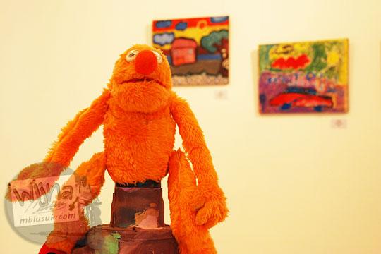 karya boneka yang melanggar hak cipta menjadi kasus pada pagelaran seni Binnale Anak di Taman Budaya Yogyakarta pada Januari 2010
