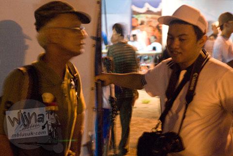 Foto Jogja Java Carnival 2008 bersama Tyo mahasiswa ilmu arsitektur UGM angkatan 2003