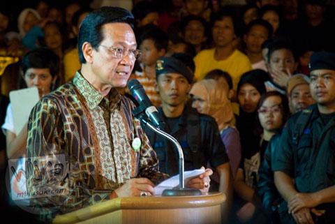 Foto Jogja Java Carnival 2008 bersama Gubernur DI Yogyakarta, Sri Sultan Hamengkubuwono X